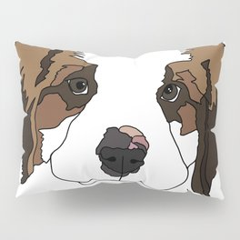 Sully the sweet Saint Bernese Pillow Sham
