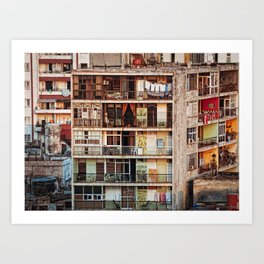 When in Cuba Art Print