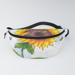 Sunflower 2 Fanny Pack