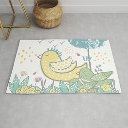 For the Birds Rug