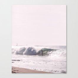 Surf Beach Canvas Print