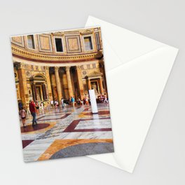 The Pantheon, Rome, Italy Stationery Cards