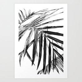 MONOCHROME BOTANICALS Art Print