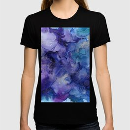 Abstract Watercolor and Ink T-shirt