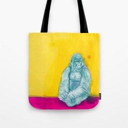 Happy gorilla Tote Bag