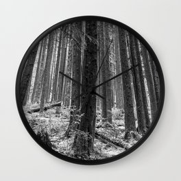 North Forest Wall Clock