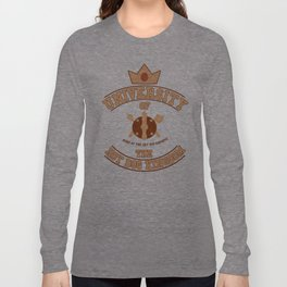 Adventuree Time College: University of the Hot Dog Kingdom Long Sleeve T-shirt