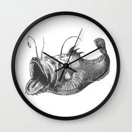 Vintage Angler Fish Wall Clock