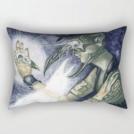 Shadow Man 3 Rectangular Pillow