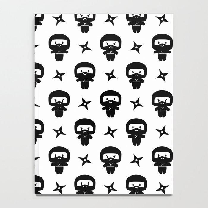 Happy Grumpy Ninjas Notebook
