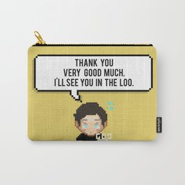 Thank you very good much, I'll see you in the loo. Carry-All Pouch