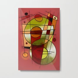 Abstract #752 Metal Print