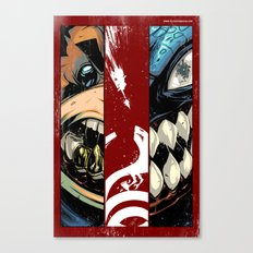 master of puppets fight scene Canvas Print