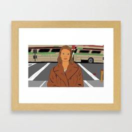 Margot Tenenbaum of The Royal Tenenbaums Framed Art Print