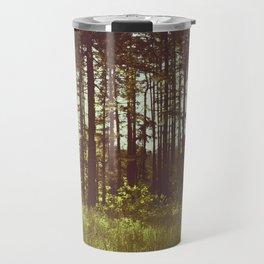 Summer Forest Sunlight - Nature Photography Travel Mug