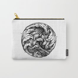 Waves Tattoo Carry-All Pouch