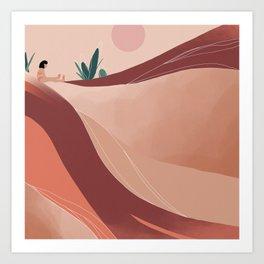 Isolation .01 Art Print