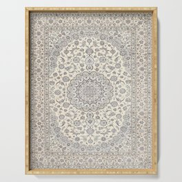 Bohemian Farmhouse Traditional Moroccan Art Style Texture Serving Tray