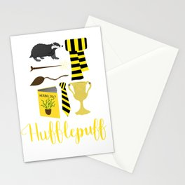 The House of Hufflepuff Stationery Cards