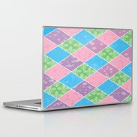 preppy Laptop & iPad Skins featuring Dazed & Preppy by Raizhay Lough