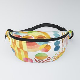 Abstract Art Deco Fanny Pack