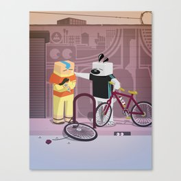 The Nick Yorkers in JUNE Canvas Print