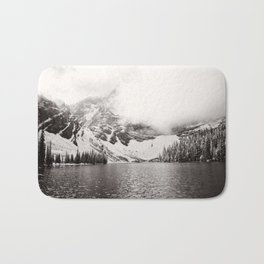 Wild Winter (B&W) Bath Mat