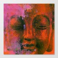 meditation Canvas Prints featuring Meditation by zAcheR-fineT