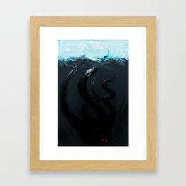 The Kraken I Framed Art Print