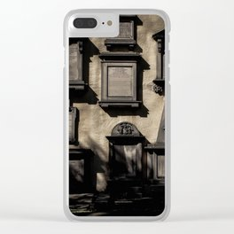 Wall of the Dead Clear iPhone Case
