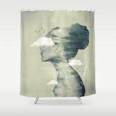 Geo Dress Shower Curtain