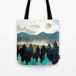 Forest Mist - Custom Horizontal Tote Bag