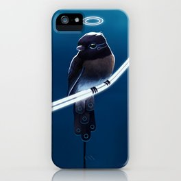 Solar Sparrow iPhone Case