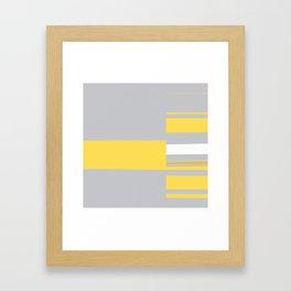 Mosaic Single 1 #minimalism #abstract #sabidussi #society6 Framed Art Print