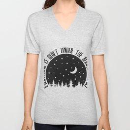 Under the Blinking Stars Unisex V-Neck