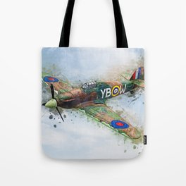 Hawker Hurricane Mk II Tote Bag