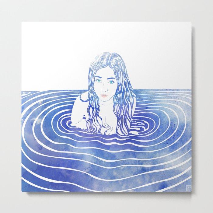 Water Nymph LIII Metal Print
