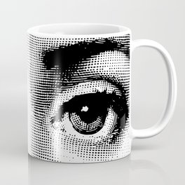 Lina Cavalieri - right eye Coffee Mug