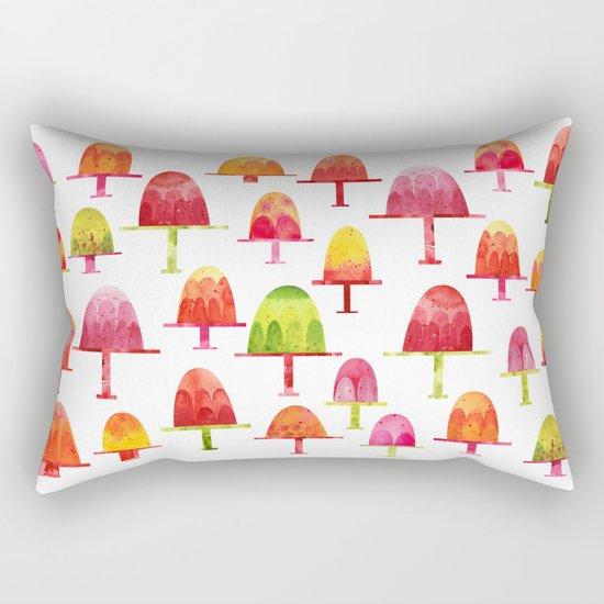Jellies on Plates Rectangular Pillow