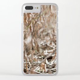 Harvest Season Clear iPhone Case