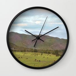 Spring Mood III Wall Clock