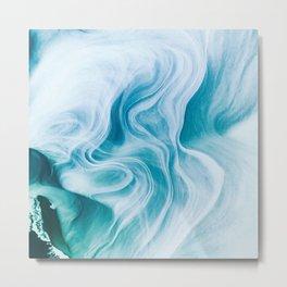 Marble sandstone - oceanic Metal Print
