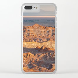 View of Sunset at Valle de la Luna Clear iPhone Case