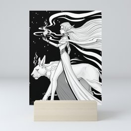 Magic Fire Mini Art Print