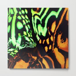 Neon animal skin Metal Print