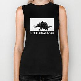 Stegosaurus Dinosaur Biker Tank