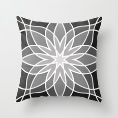 Shades of Grey | Geometric Pattern Throw Pillow