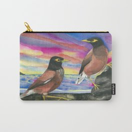 Common Myna Birds Carry-All Pouch