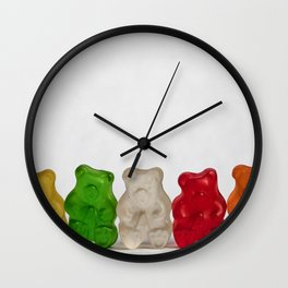 The Lineup Wall Clock