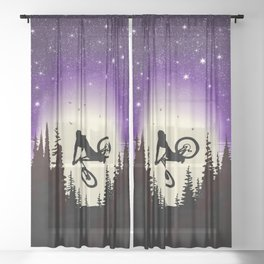 Moon Whip Sheer Curtain